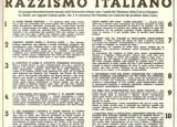 Dichiarazione del Gran Consiglio del Fascismo sulla razza, 6 – 7 ottobre 1938