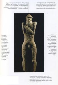 Statua celtica di pietra, seconda metà del VI secolo a.C, da Ditzingen-Hirschlanden, Stoccarda, Wurttembergisches-Landesmuseum.