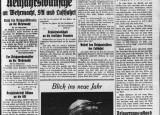 La prima pagina di oggi: 31 dicembre 1933