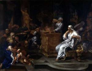 Le vestali, di Ciro Ferri (1634-1689 – Galleria Spada, Roma)