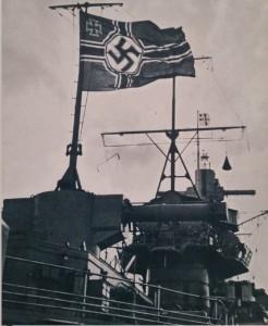 Scorcio della Graf Spee