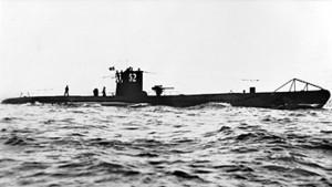 U-Boot VII-C U52, autoaffondanto a Kiel per non cadere in mani alleate