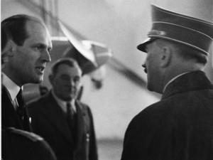 Wilhelm Messerschmitt e Adolf Hitler